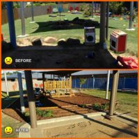 Childcare Centre Upgrade in Glenella Before and After