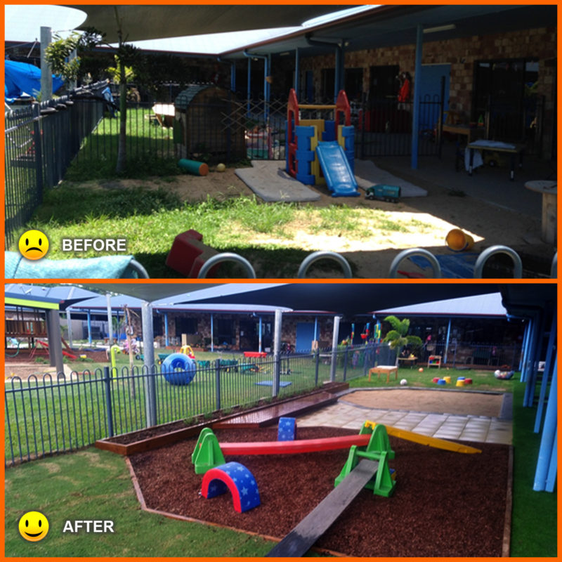 Childcare Center in Glenella Upgrade Garden