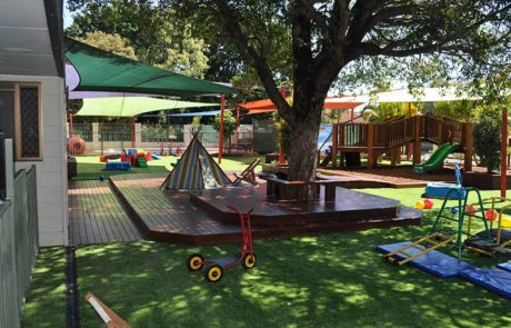 Mermaid Waters Childcare Centre Makeover Timber Decking