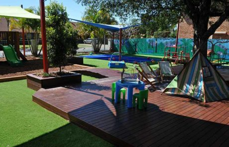 Mermaid Waters Childcare Centre Makeover decking