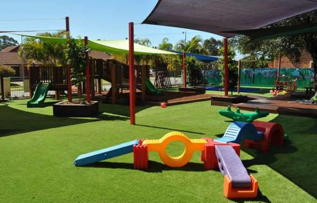 Mermaid Waters Childcare Centre Stepping Path