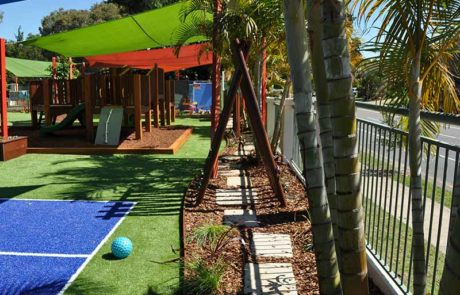 Mermaid Waters Childcare Centre Makeover Stepping Paths