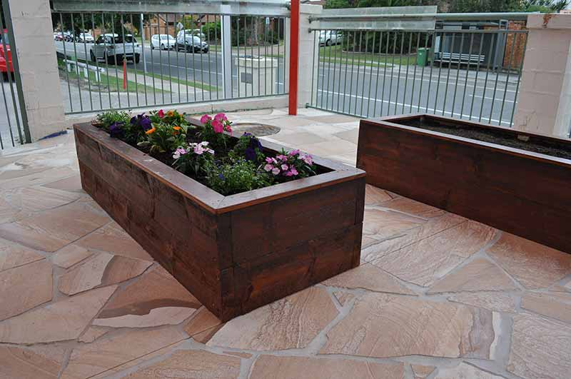 Mermaid Waters Childcare Centre Makeover gardening and landscaping