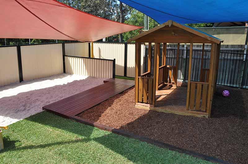 Gold Coast Childcare Centre Sandpit & Cubby House