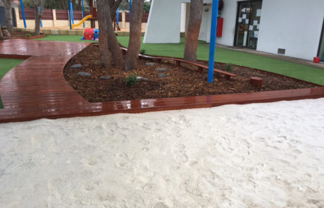 Perth Childcare Centre Sand Pit