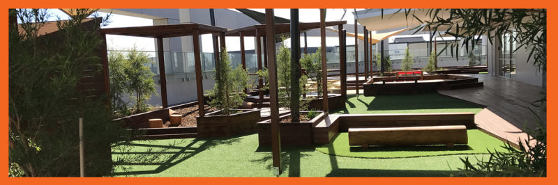 Childcare Centre Playground Development- landscaping