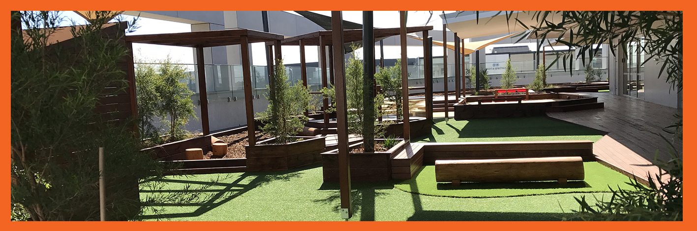 Childcare Centre Playground Development and landscaping