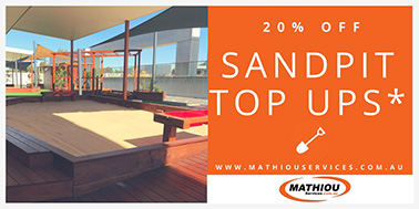 Commercial Landscaping Sandpit Top Ups