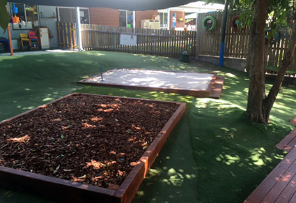 Upgrade Garden Bark Pit and Sand Pit