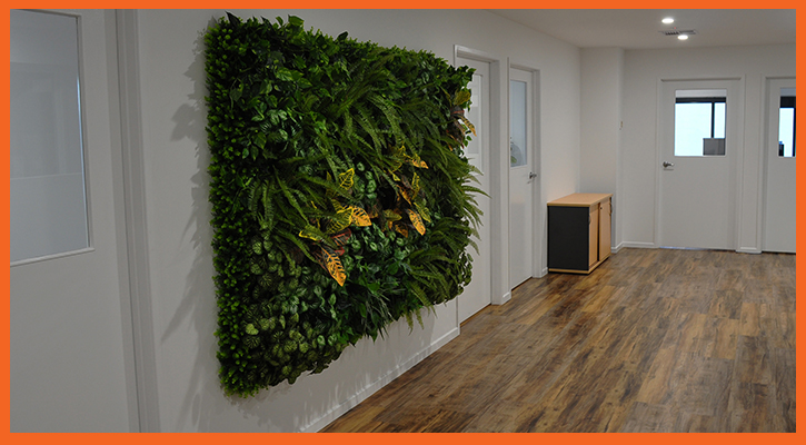 Fit-outs- Garden wall