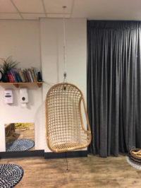 Childcare's mini make over creates impact Hanging Chair