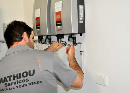 Mathiou Services Electrical Maintenance Worker