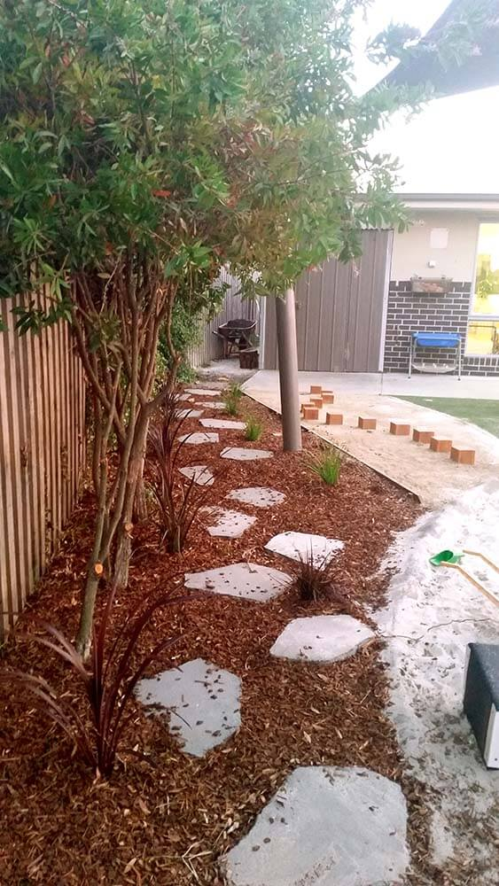 Stepping stone path- childcare centre