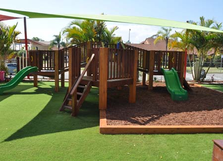 Playground Building and Upgrading