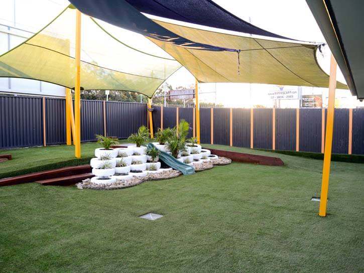 Cubbycare playground and Astro Turf Upgrade