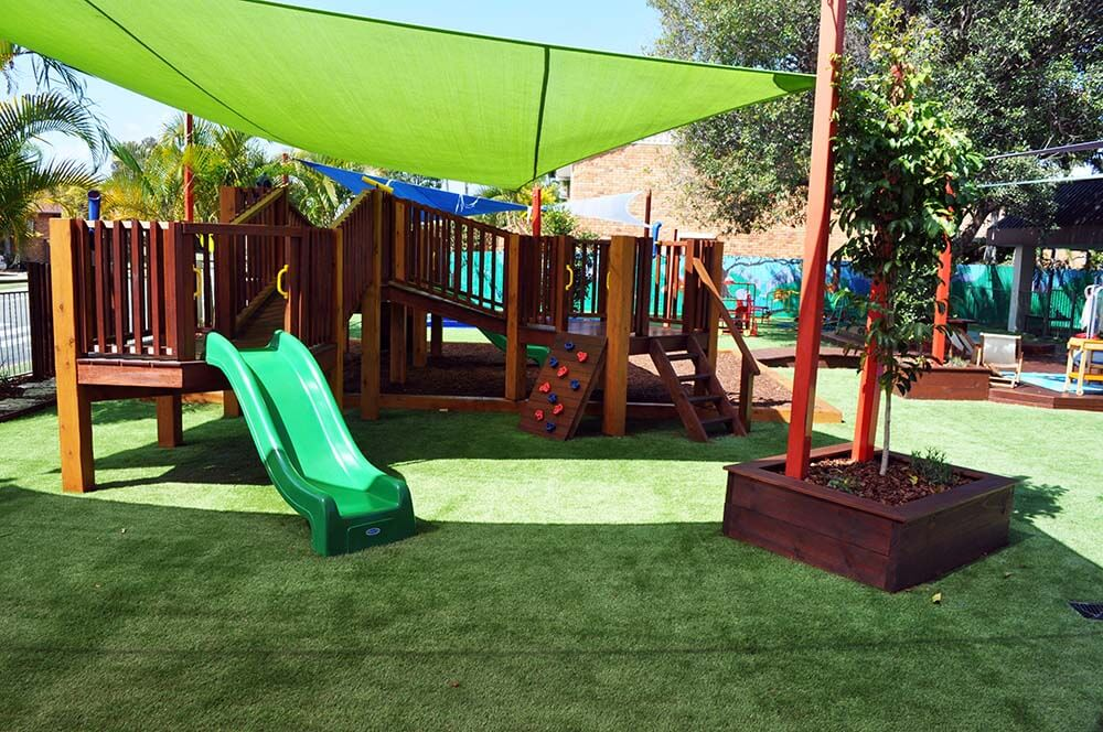 Forts, cubby house and playground elements upgrade