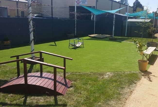 Kelso Childcare Centre Garden Upgrade