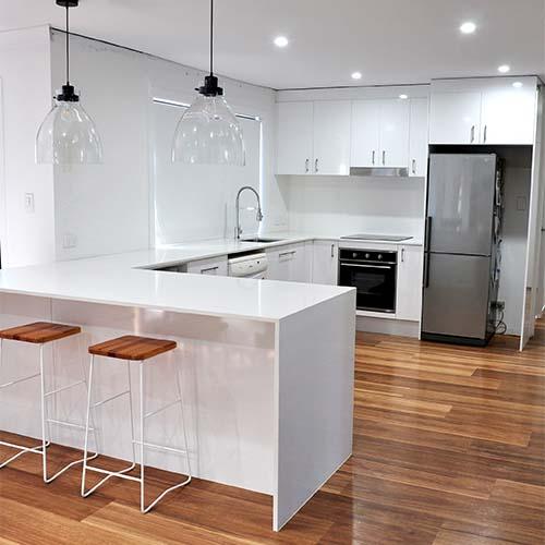 Kitchen improvement and lighting install