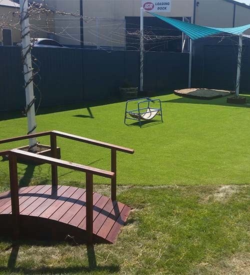 Astro Turf Installation and playground maintenance