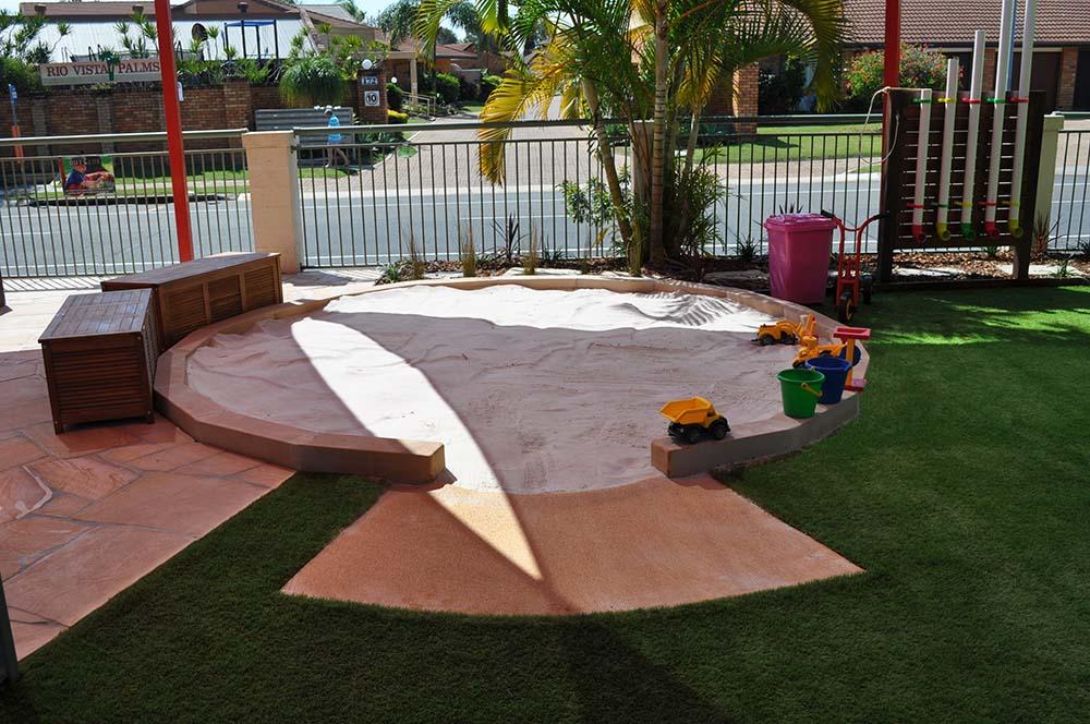 Mermaid Beach Playground Sand Pit