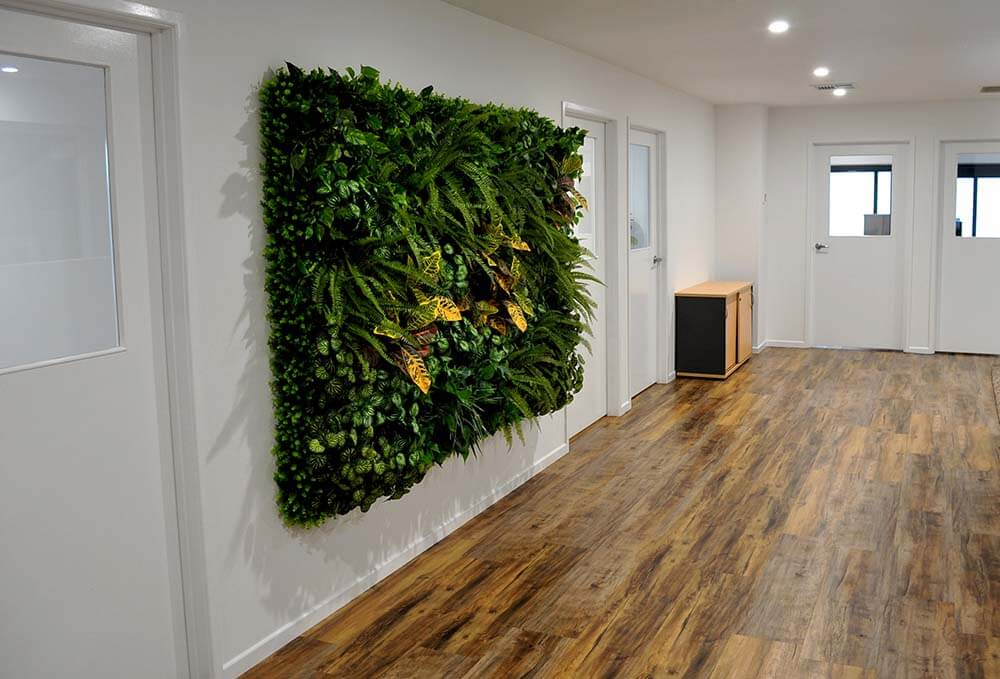 Flooring and feature wall
