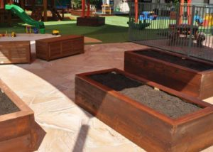 Mermaid Beach Playground Upgrade Project Garden beds