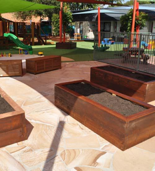 Mermaid Beach Playground Upgrade Project Garden beds