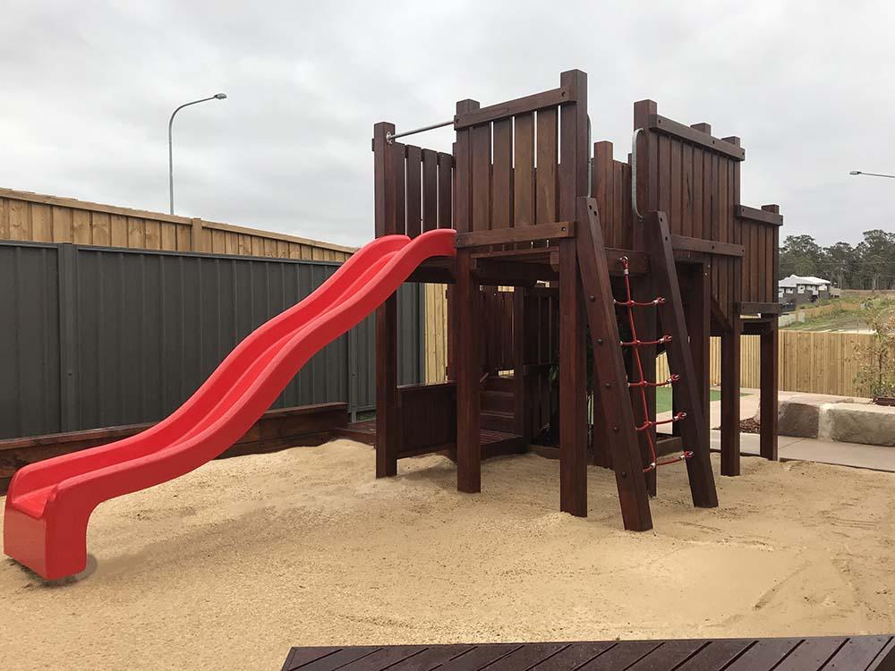 play area build