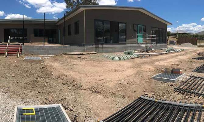 Before image of Thornton Playground Development