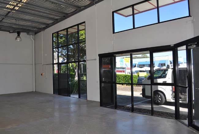 Commercial building interior fit out