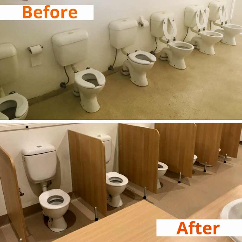 kids childcare toilets-upgraded