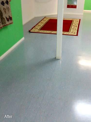 Strip and Seal Hard Flooring Community Floor Restoration and Maintenance
