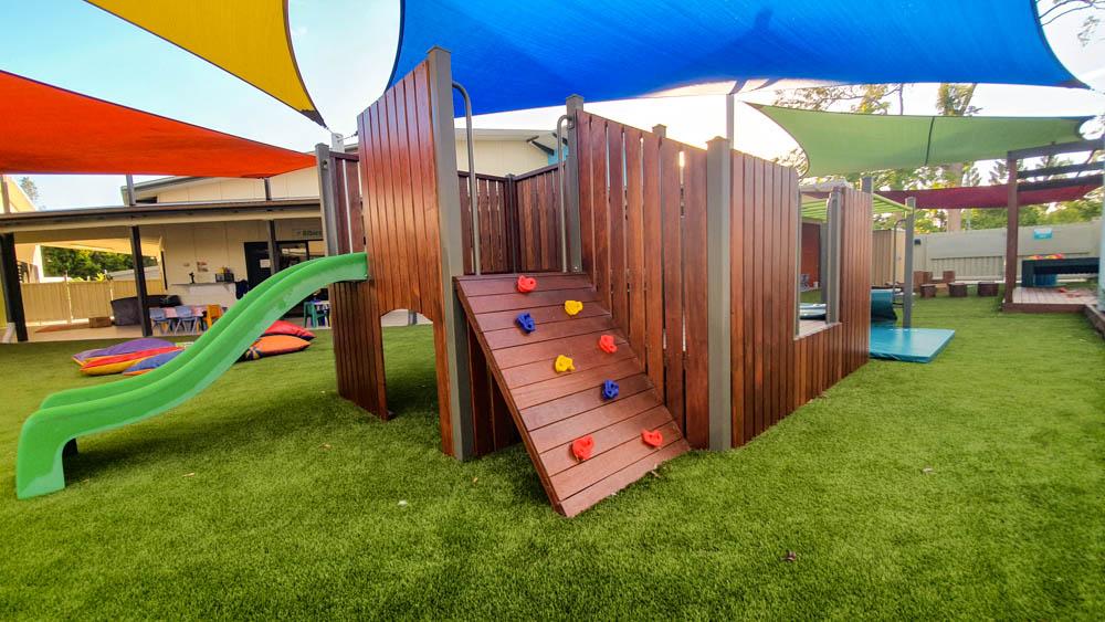 Stretton Playground Playground Fort Upgrade