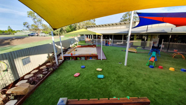 Stretton Early Learning Centre astro turf