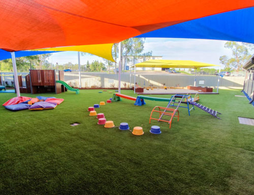 Stretton playground upgrade experience