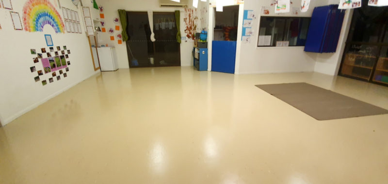 Childcare Centre Vinyl Strip and seal