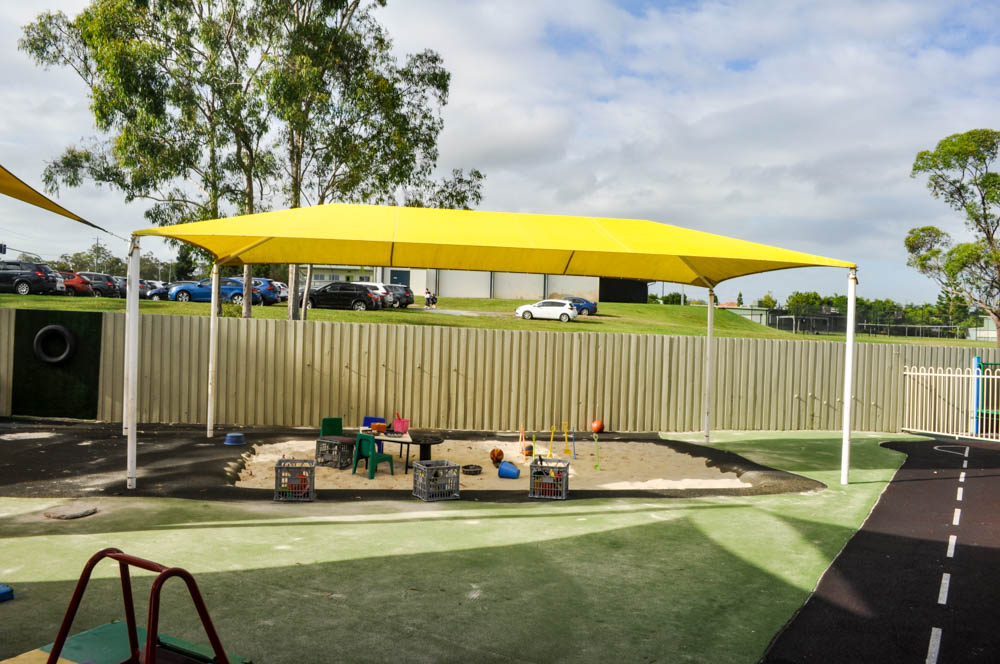 Stretton - ELC -Sandpit and astroturf