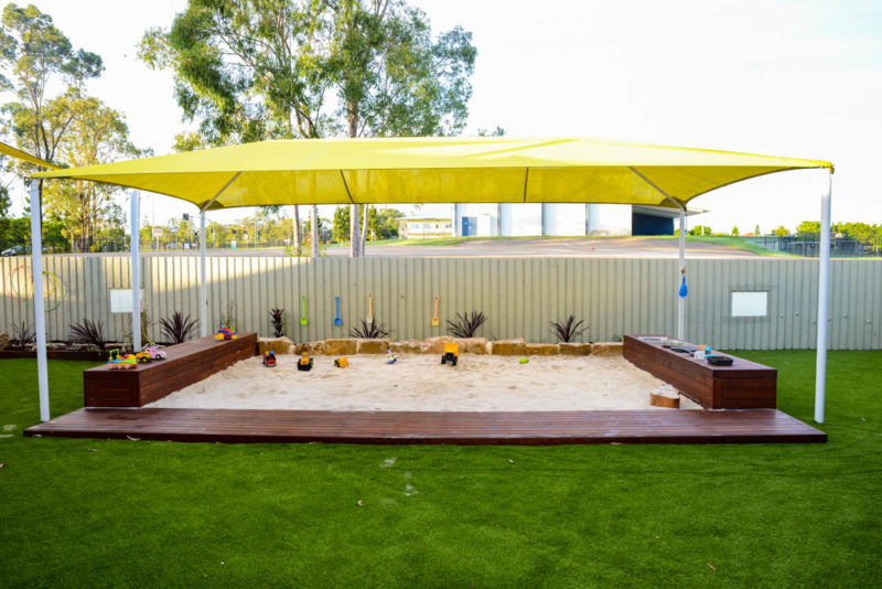 Stretton Early Learning Centre Sandpit and astroturf upgrade