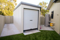 Stretton Early Learning Centre New storage shed installed
