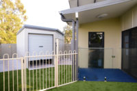 Stretton Early Learning Centre exterior paint