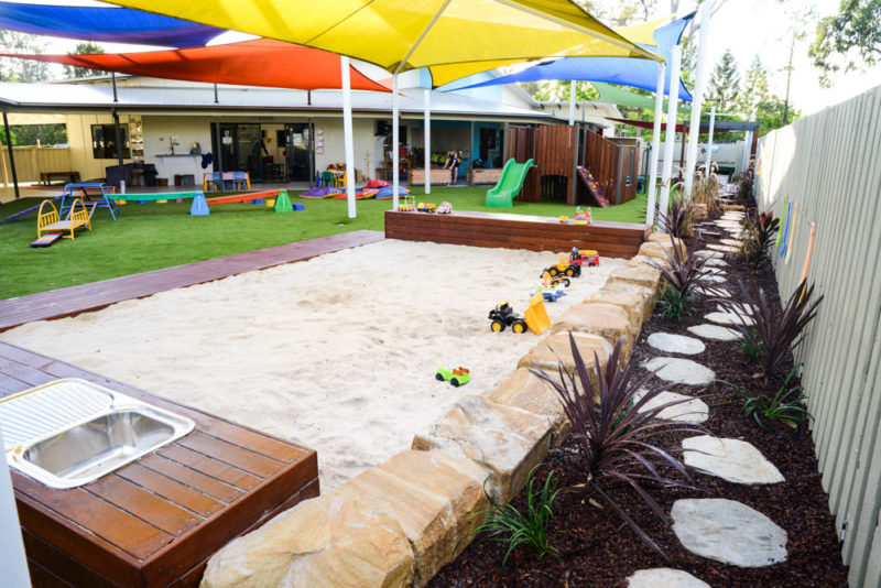 Stretton Early Learning Centre sandpit upgrade