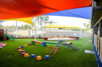 Stretton Early Learning Centre obstacle course