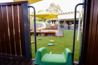 Stretton Playground View from Slide