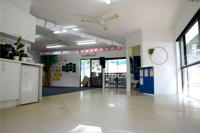 Childcare Centre Before Vinyl Flooring and Carpet Clean