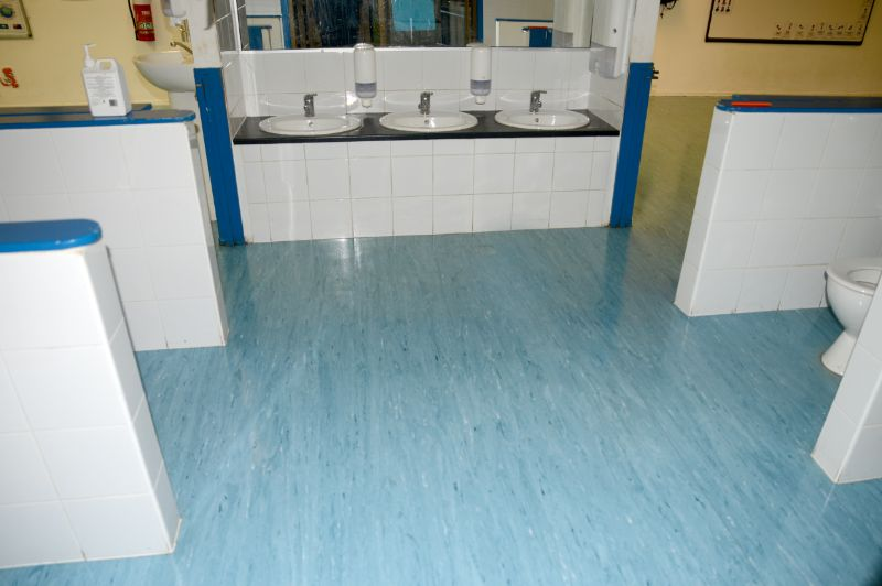 Childcare Centre After Vinyl Flooring and Strip & Seal