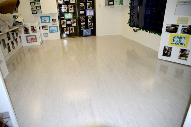 Childcare Centre Vinyl Flooring and Strip & Seal