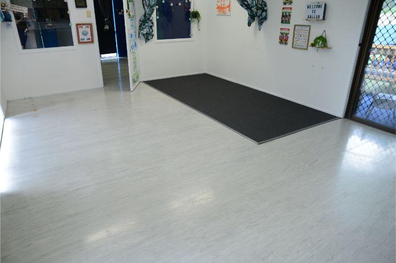 Childcare Centre Vinyl Floor Restoration and Strip & Seal