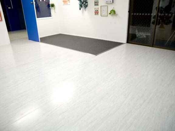 childcare centre strip and seal and carpet clean