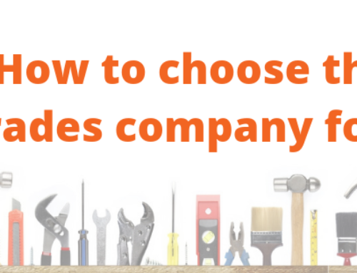 How to choose a builder/ Plumber/ handyman or any trade