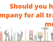 Should you hire one company for all trades or multiple
